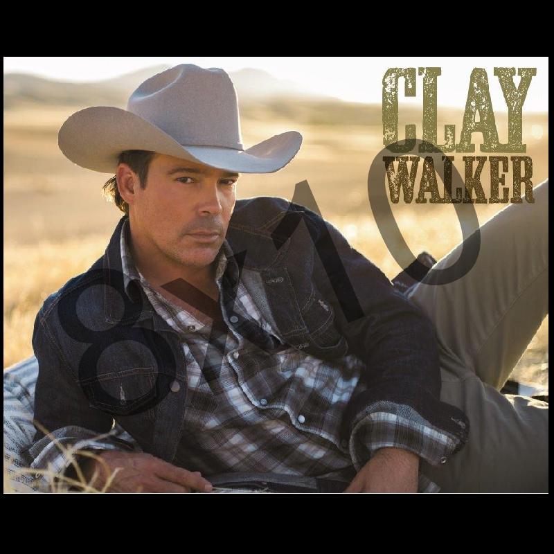 Clay Walker 8x10- Denim Jacket