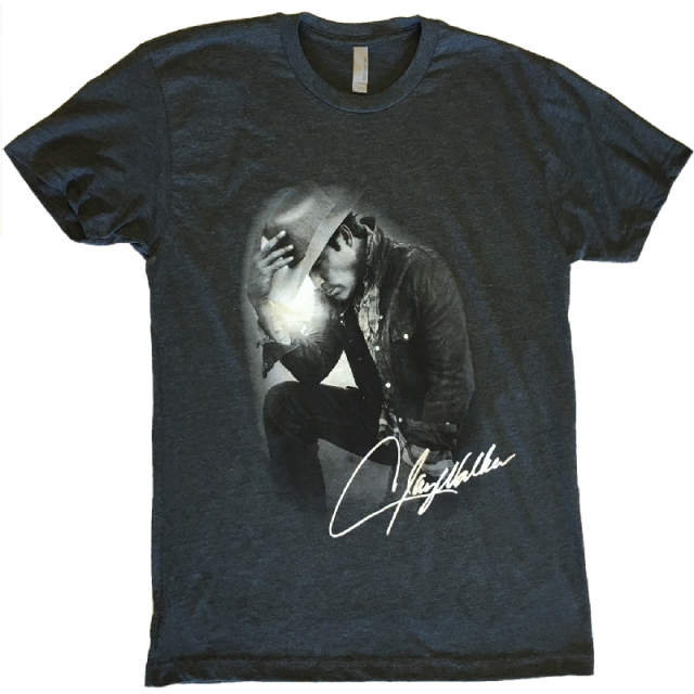 Clay Walker Heather Charcoal Tee