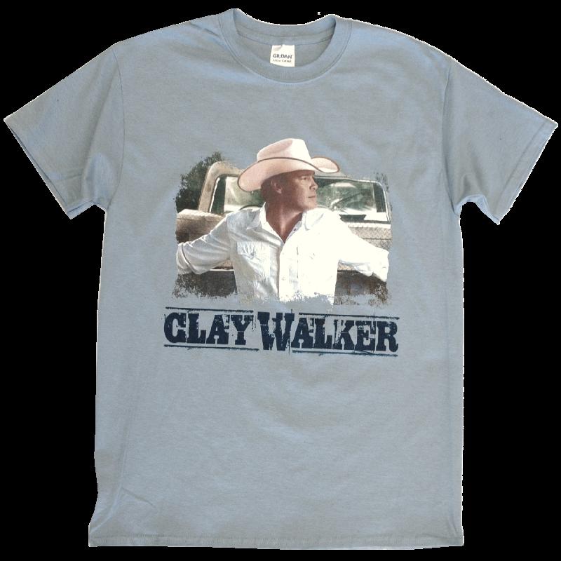 Clay Walker Stone Blue Photo Tee
