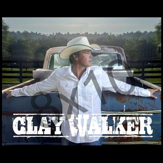 Clay Walker 8x10- White Shirt