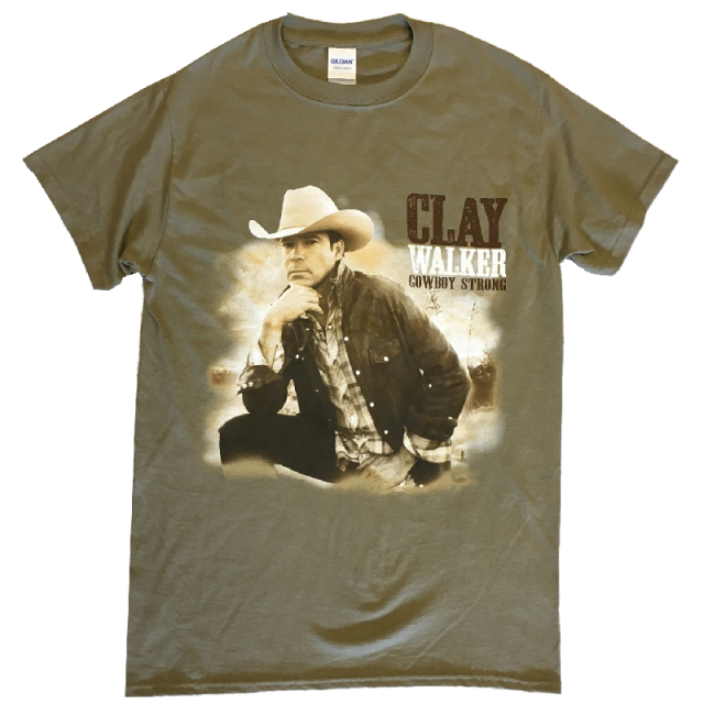 Clay Walker Prairie Dust Photo Tee